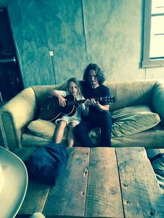 Chris Cornell with son Christopher
